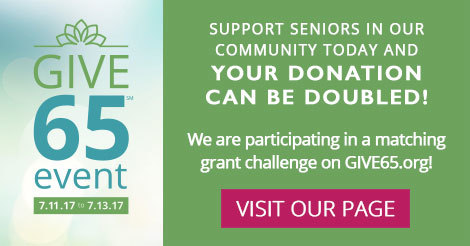 2017 GIVE65 Event matching dollars
